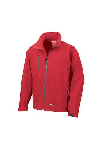 Result Softshelljacke »Herren Softshell - Jacke, zweilagig, wasserabweisend, atmungsaktiv« kaufen