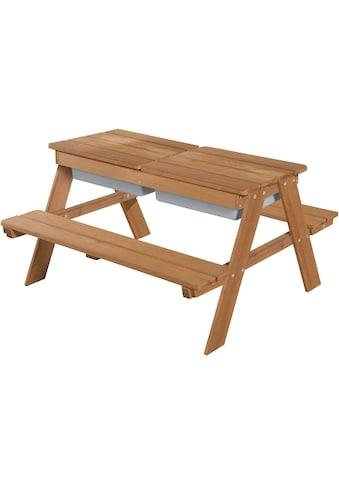 roba® Kindersitzgruppe »Outdoor Deluxe mit Spielwannenm Teakholz« (Set, 1 - tlg) kaufen