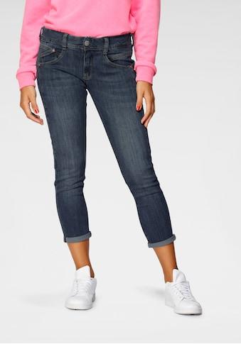 Herrlicher 7/8-Jeans »GINA CROPPED«, Schlankeffekt dank eingesetztem Keileinsatz kaufen