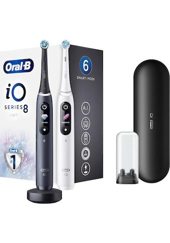 Oral B Elektrische Zahnbürste »iO Series 8N mit 2. Handstück«, 1 St. Aufsteckbürsten,... kaufen