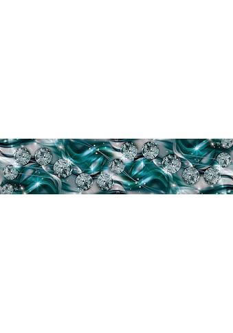 CONSALNET Vliestapete »Diamant Abstraktion«, verschiedene Motivgrössen, für die Küche kaufen