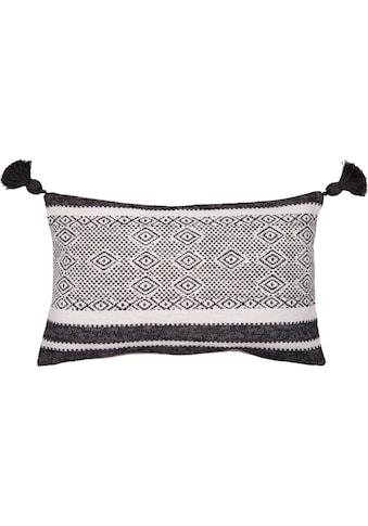 TOM TAILOR Kissenbezug »Mixed Pattern«, (1 St.), mit Pompons kaufen