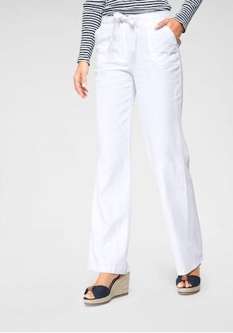 Aniston CASUAL Leinenhose, mit Bindeband kaufen