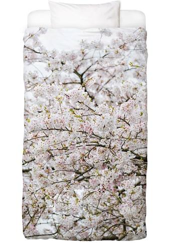 Juniqe Bettwäsche »Blossom White 2«, In vielen weiteren Designs erhältlich kaufen