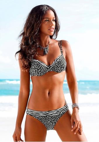 LASCANA Bügel-Bikini-Top »Safari«, mit herausnehmbaren Cups kaufen