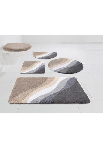 Badematte »Lani«, DELAVITA, Höhe 15 mm, strapazierfähig kaufen