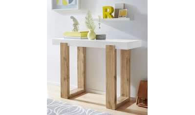 INOSIGN Konsolentisch »Solid«, mit schönem Beingestell und einer weissen Tischplatte,... kaufen