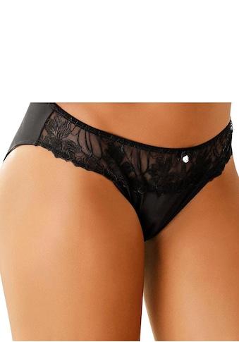 LASCANA Slip, mit schöner Stickereispitze kaufen