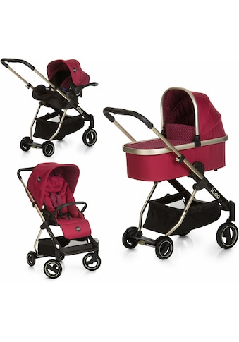 iCoo Kombi-Kinderwagen »Acrobat XL Plus Trio Set Diamond Ruby«, 15 kg kaufen