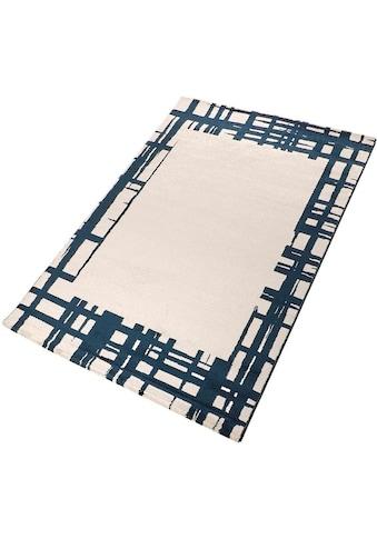 Living Line Teppich »Paris«, rechteckig, 12 mm Höhe, modernes Design, Wohnzimmer kaufen
