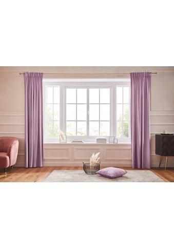 Vorhang, »SAMT«, Guido Maria Kretschmer Home&Living, Multifunktionsband 1 Stück kaufen