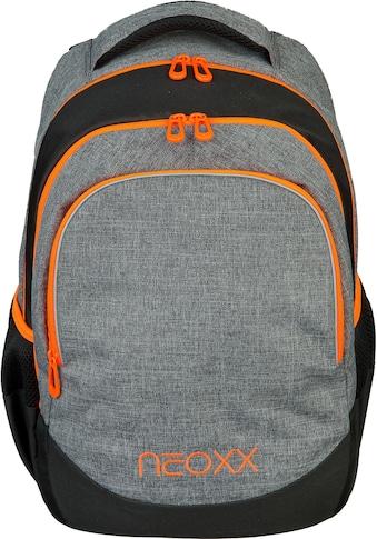 neoxx Schulrucksack »Fly, Stay orange«, Reflektionsnaht kaufen