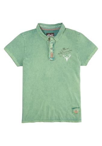 Hangowear Trachtenshirt, mit dekorativem Printelement kaufen