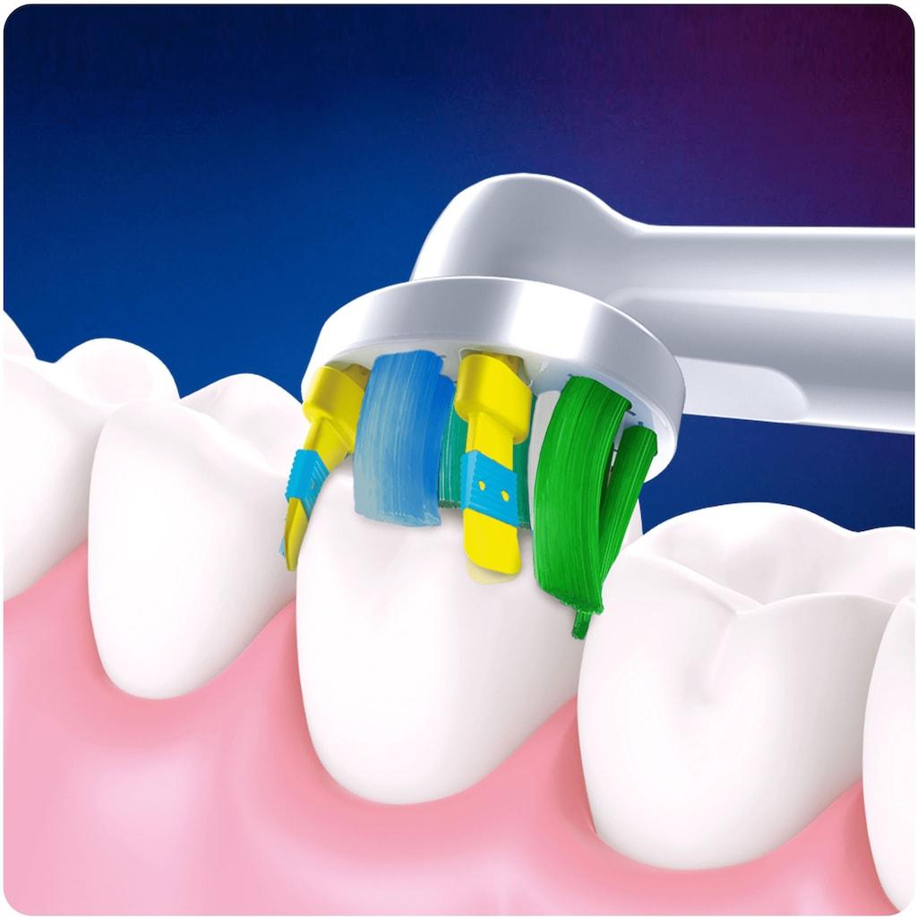 Oral B Aufsteckbürsten »Tiefenreinigung mit CleanMaximiser-Borsten«, CleanMaximiser-Technologie