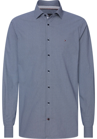 Tommy Hilfiger TAILORED Businesshemd »MICRO PRINT CLASSIC SLIM SHIRT« kaufen