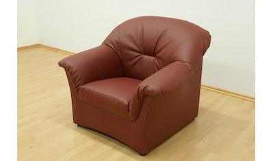 DOMO collection Sessel »Papenburg«, in grosser Farbvielfalt kaufen