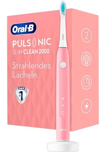 Oral B Schallzahnbürste »Pulsonic Slim Clean 2000«, 1 St. Aufsteckbürsten kaufen