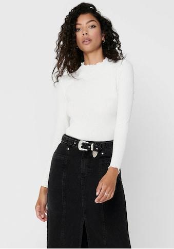 Only Langarmshirt »ONLEMMA L/S HIGH NECK TOP« kaufen