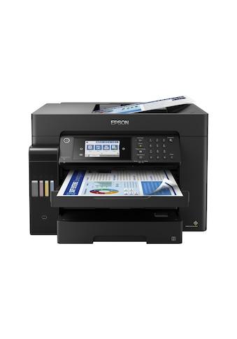 Multifunktionsdrucker, Epson, »EcoTank ET - 16650« kaufen
