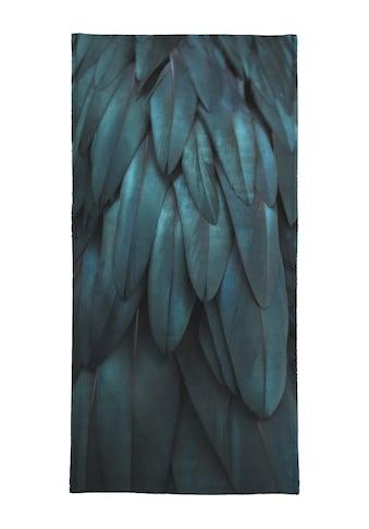 """Strandtuch """"Dark Feathers"""", Juniqe kaufen"""
