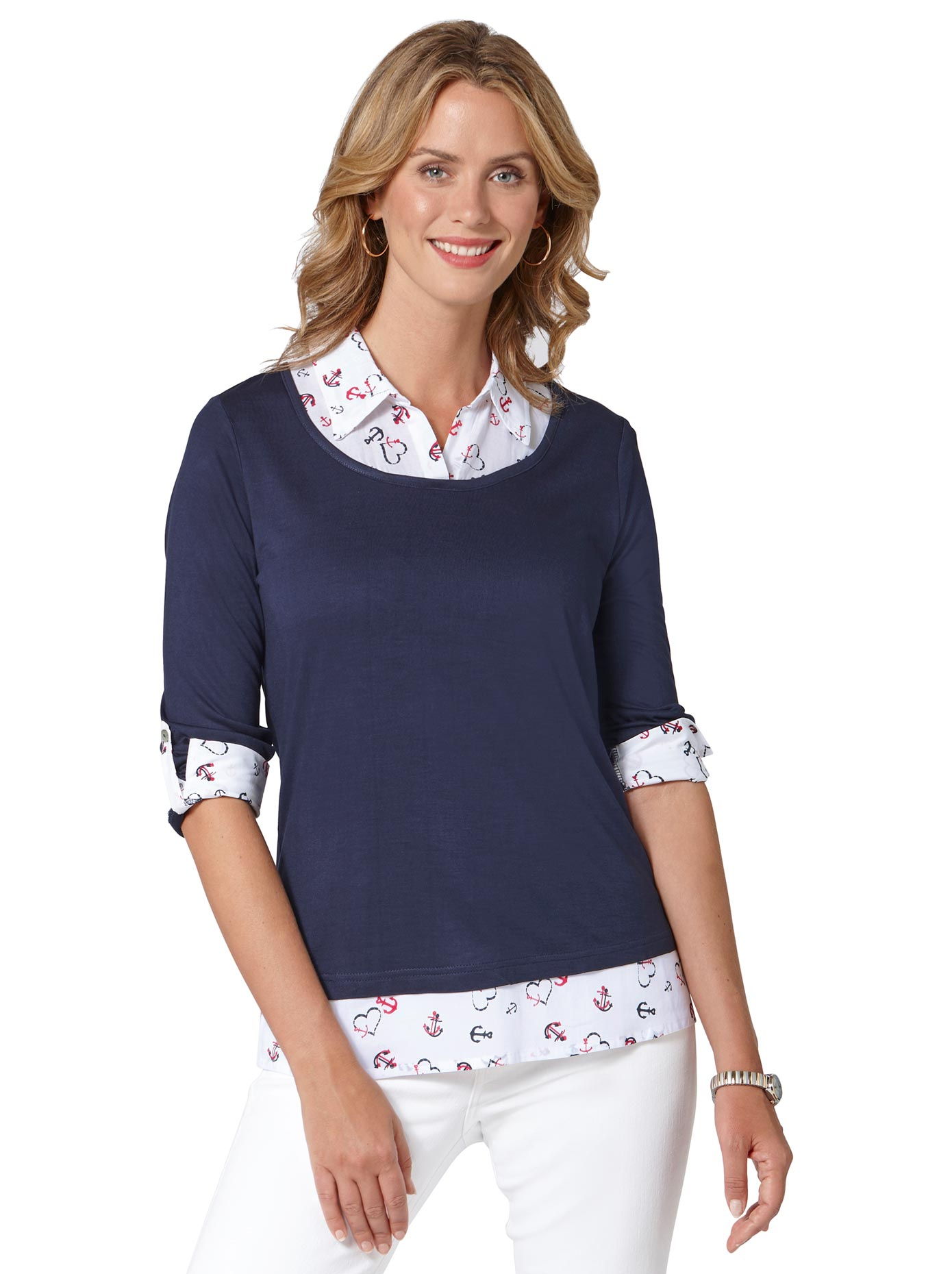 Image of Ambria 2-in-1-Shirt