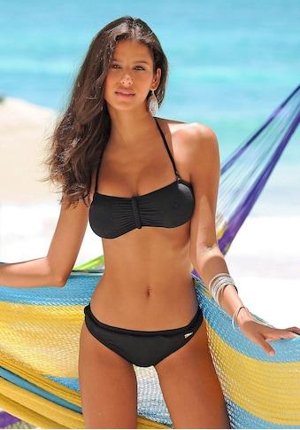 Buffalo Bikini-Hose »Happy«, mit geflochtenem Ziergürtel kaufen
