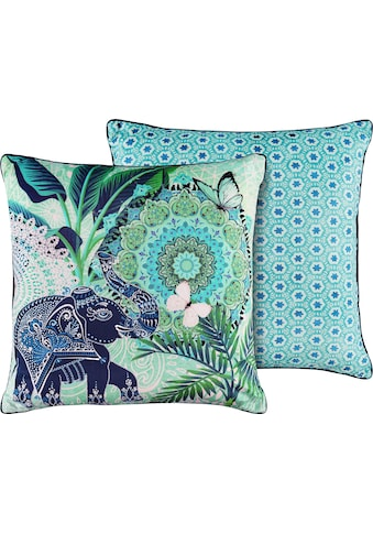 hip Dekokissen »Isara«, mit Mandalas und Elefant kaufen