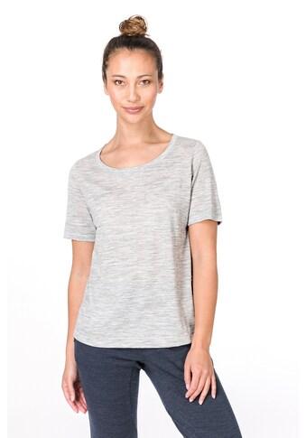 SUPER.NATURAL T - Shirt »W ESSENTIAL SCOOP TEE« kaufen