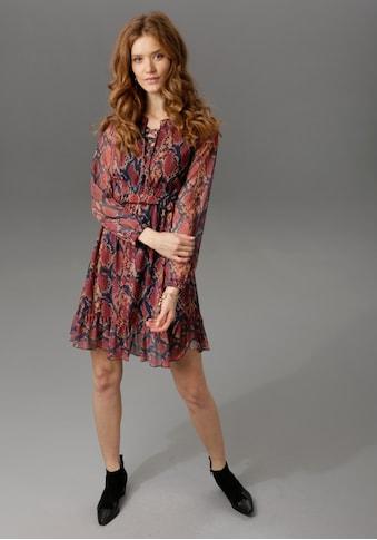 Aniston CASUAL Partykleid, im trendigen Schlangenprint kaufen