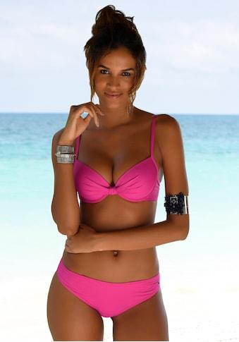 s.Oliver Bügel-Bikini-Top »Spain«, mit geraffter Mitte kaufen