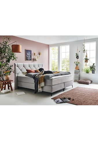 Premium collection by Home affaire Boxspringbett »Aiko«, 100% vegan, mit... kaufen