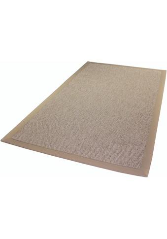 Dekowe Teppich »Naturino Classic, Wunschmass«, rechteckig, 8 mm Höhe, Flachgewebe, Sisal-Optik, mit Bordüre, In- und Outdoor geeignet, Wohnzimmer kaufen