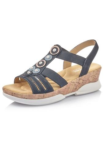 Rieker Sandalette, mit weich abgepolsterter Innensohle kaufen