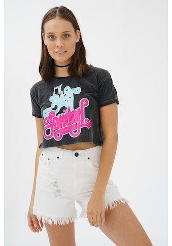 trueprodigy T-Shirt »London Love«, mit Gloss-Print in Vintage-Optik kaufen