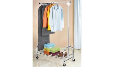 WENKO Garderobenständer »Kleiderständer Profi verchromt«, mit grosser... kaufen
