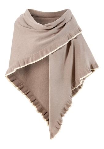 Turi Landhaus Schal, mit Rüschen kaufen