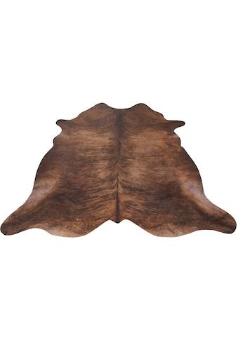Andiamo Fellteppich »Amarillo«, fellförmig, 4 mm Höhe, Kunstfell, gedruckte... kaufen
