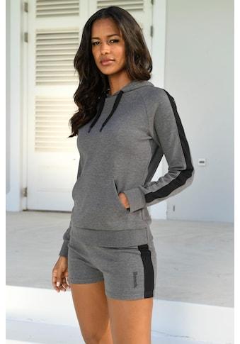 Bench. Kapuzensweatshirt, mit Seitenstreifen und Kängurutasche kaufen
