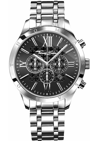 THOMAS SABO Chronograph »REBEL URBAN, WA0015-201-203« kaufen