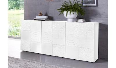 LC Sideboard »Miro«, Breite 181 cm mit dekorativem Siebdruck kaufen
