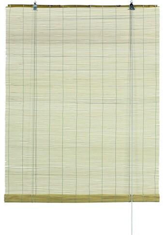 Seitenzugrollo »Bambus - Rollo«, GARDINIA, Lichtschutz, mit Bohren, freihängend kaufen