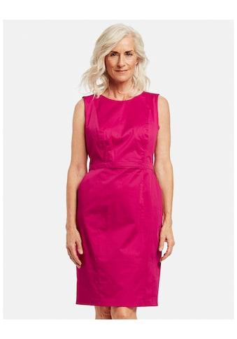 GERRY WEBER Kleid Gewebe »Etuikleid mit gekreuztem Rückenteil« kaufen