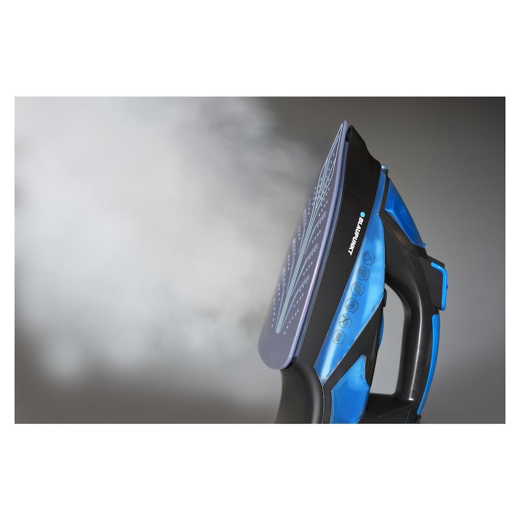 Blaupunkt Dampfbügeleisen »HSI701 Blau/Schwarz«, 2600 W