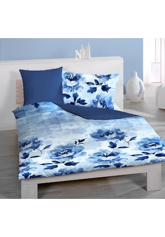 Wende - Satin - Bettbezug, Home Fashion, »Blume« kaufen