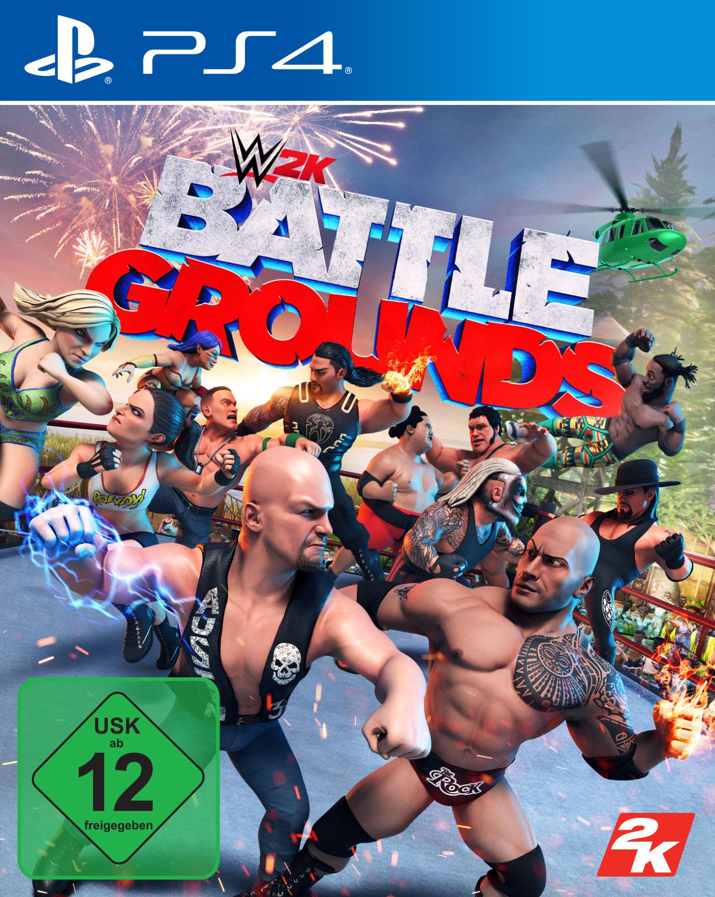 Image of 2K Spiel »WWE 2K Battlegrounds«, PlayStation 4