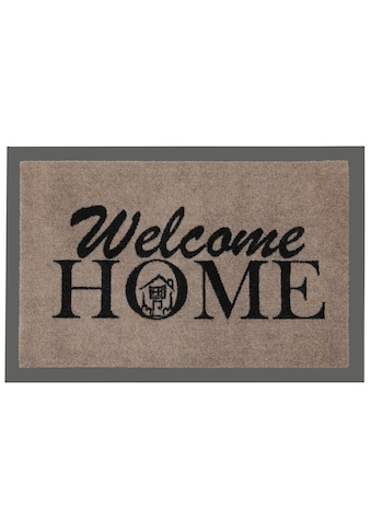 Fussmatte, »Welcome Home«, HANSE Home, rechteckig, Höhe 7 mm, maschinell getuftet kaufen