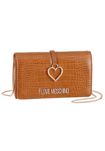 LOVE MOSCHINO Mini Bag, in modischer Reptil Optik kaufen