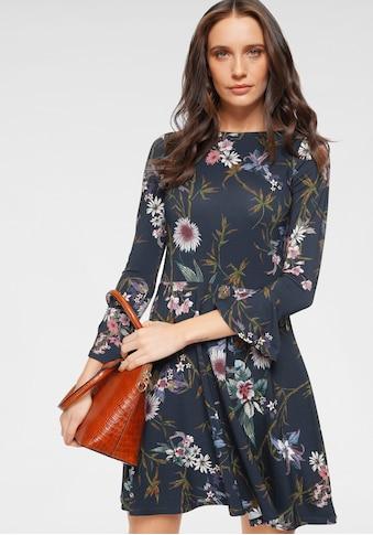 Laura Scott Jerseykleid, mit Volant am Ärmel - NEUE KOLLEKTION kaufen