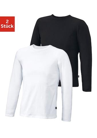 H.I.S Langarmshirt, aus Baumwolle kaufen