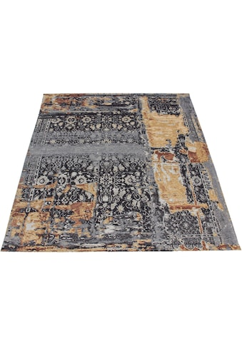 Teppich, »Cara«, DELAVITA, rechteckig, Höhe 8 mm, maschinell gewebt kaufen